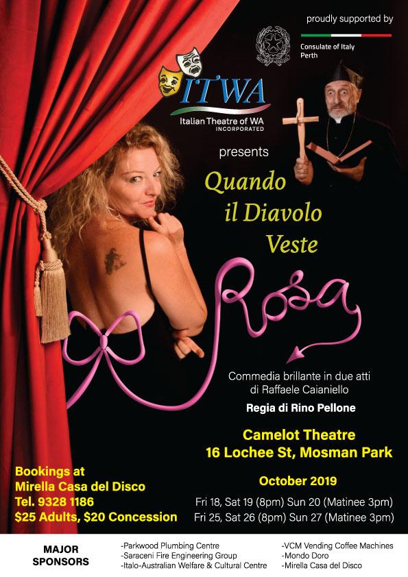 """Italian Performance: """"Quando il Diavolo Veste Rosa"""""""
