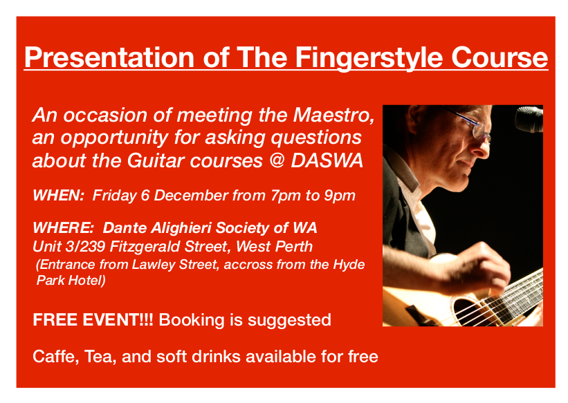 Fingerstyle Guitar Course Presentation