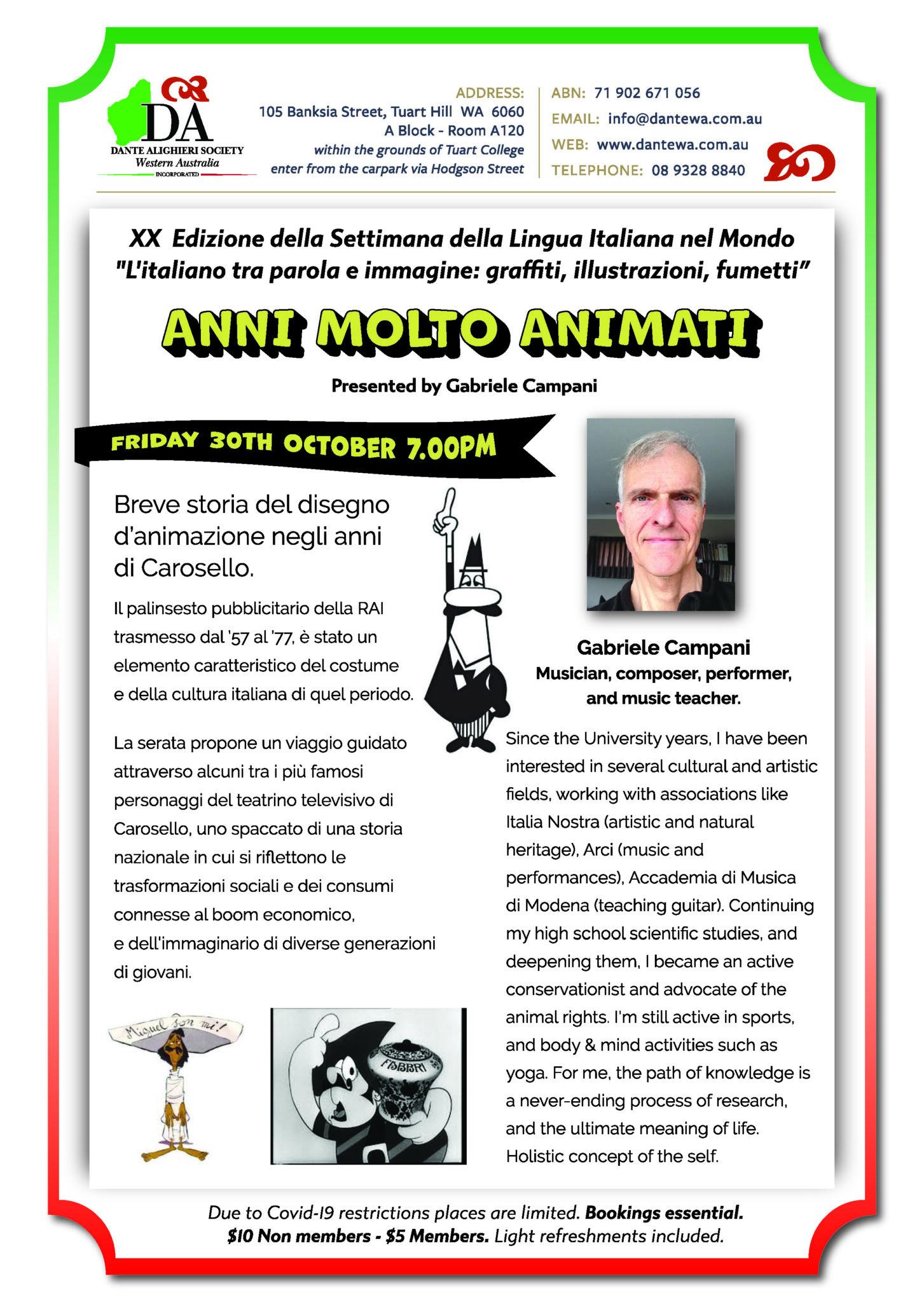 🟢⚪🔴 XX EDIZIONE DELLA SETTIMANA DELLA LINGUA ITALIANA NEL MONDO  🟢⚪🔴